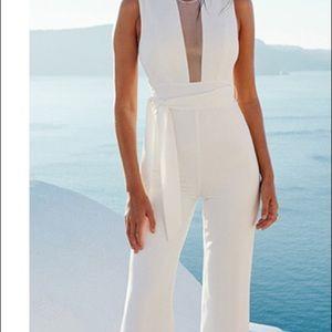 Jumpsuit white